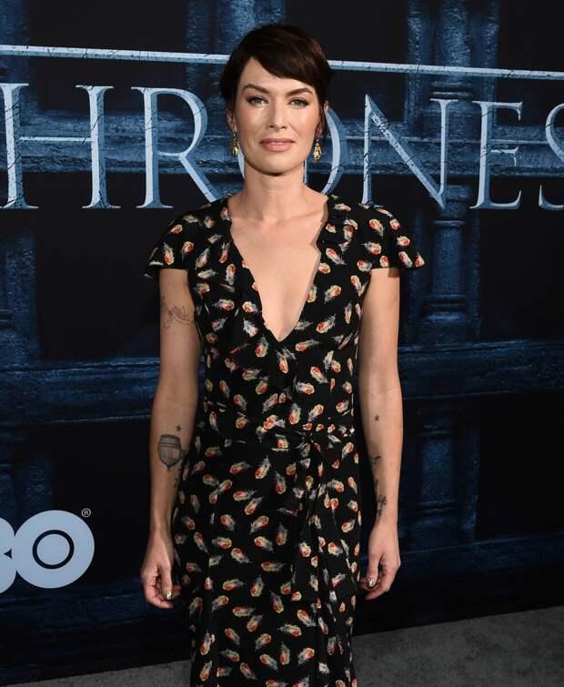 Лина Хиди в платье. /Фото: celebmafia.com