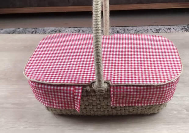 Как преобразить сломанную корзину