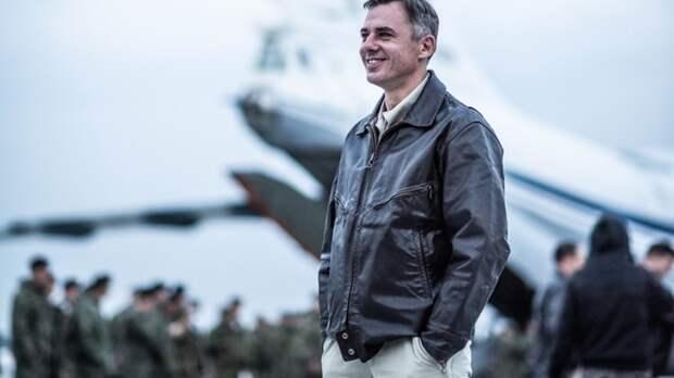 В Сирии покажут фильм о лётчике Олеге Пешкове