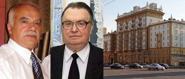 Игорь Гвритишвили, Юрий Фокин и посольство США в Москве.