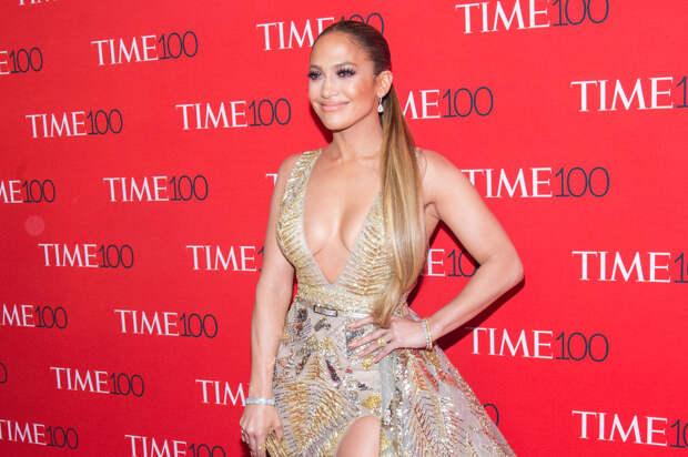 Роскошная Дженнифер Лопес на гала-вечере Time 100