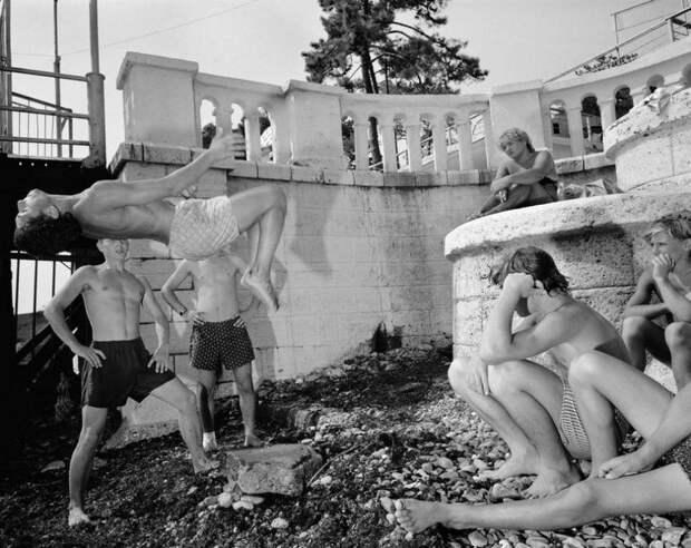 Сочи — российская ривьера 1988 года в фотографиях Карла де Кейзера