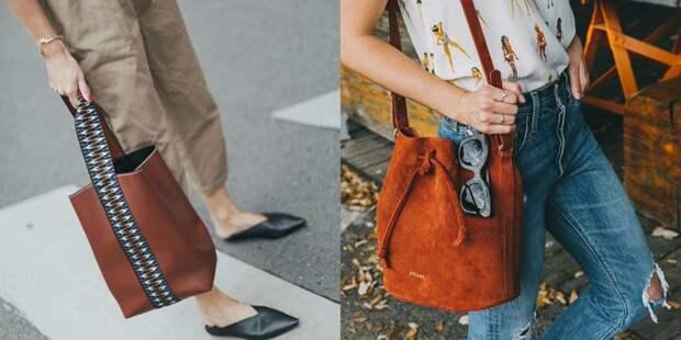 Выбираем модную сумку-ведро