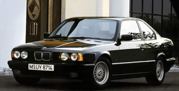 BMW E34 авто, автодизайн, автомобили, дизайн, фотомонтаж, фотошоп, юмор, янгтаймер