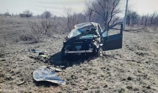 На трассе под Орском в ДТП пострадал водитель Peugeot