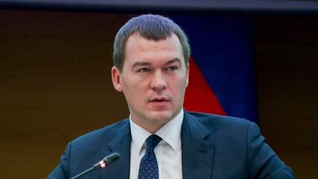 Дегтярёв вступил в должность губернатора Хабаровского края