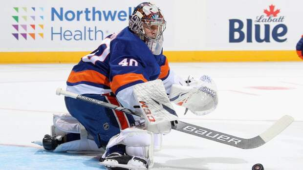 Варламов побил рекорд «Айлендерс» по продолжительности сухой серии в НХЛ