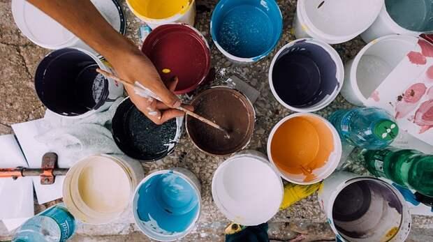 Краски. Фото: pixabay.com