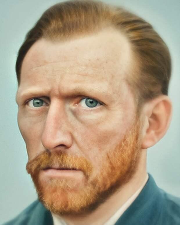 Художник из Амстердама создает реалистичные портреты исторических личностей