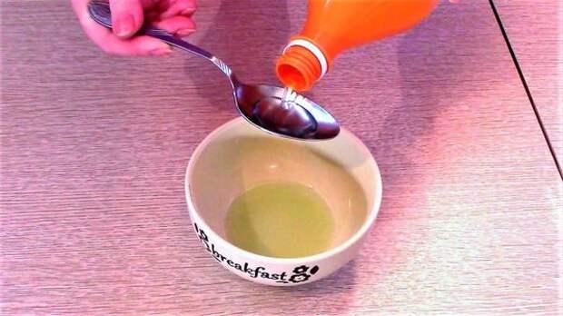 Перед замачиванием семян сок алоэ разбавляем водой