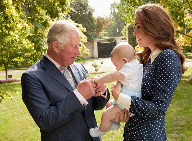Кейт Миддлтон называет принца Чарльза «дедушкой»