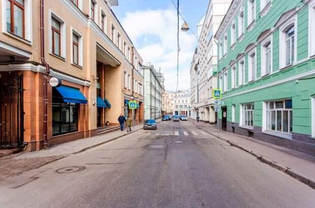 Собянин рассказал о благоустройстве в Дмитровском переулке и на Шаболовке