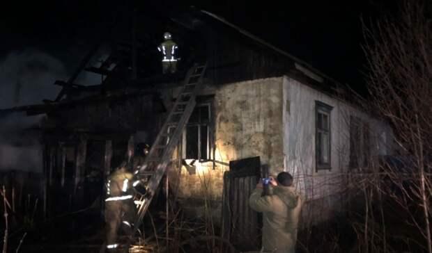 Два человека погибли впожаре вКрасноуфимске