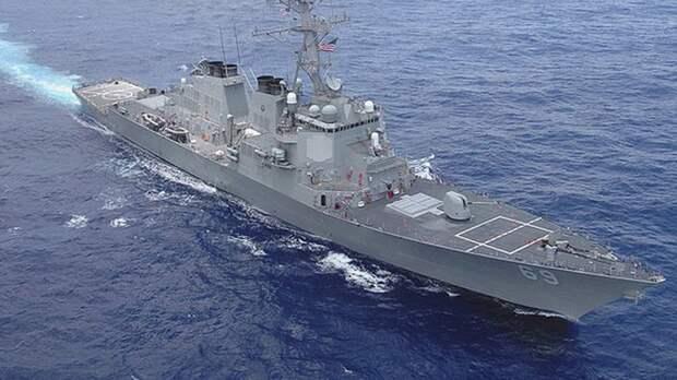 Румынским истребителям пришлось защищать корабль ВМС США от российских Су-30 и Су-34