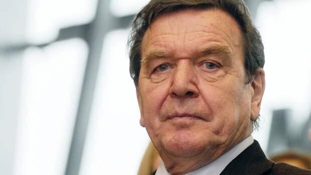 Бессмысленными назвал экс-канцлер ФРГ Шрёдер санкции против России