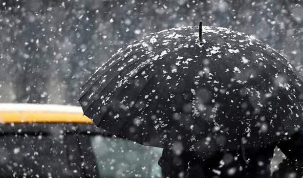 Дождь и мокрый снег возвратятся в Москву на следующей неделе