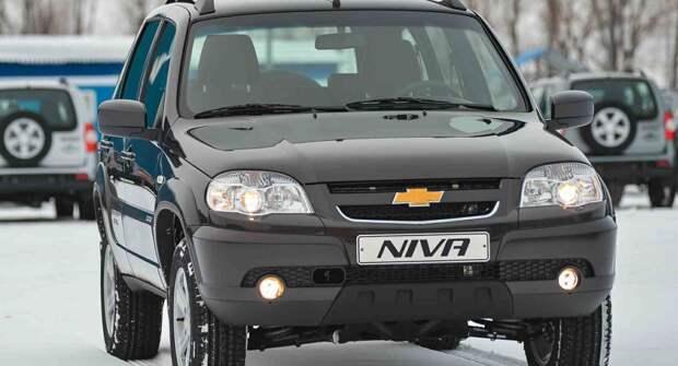 Редкая Chevrolet Niva с мотором на 122 л.с.