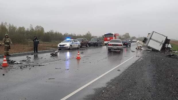 По факту гибели 5 человек в ДТП под Красноярском завели дело