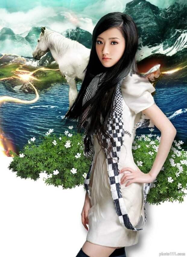 самые красивые актрисы Китая: Цзин Тянь / Jing Tian фото