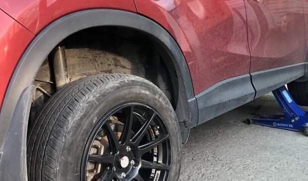 Водители Приморья убедятся, что плохая резина может привести не только к детям