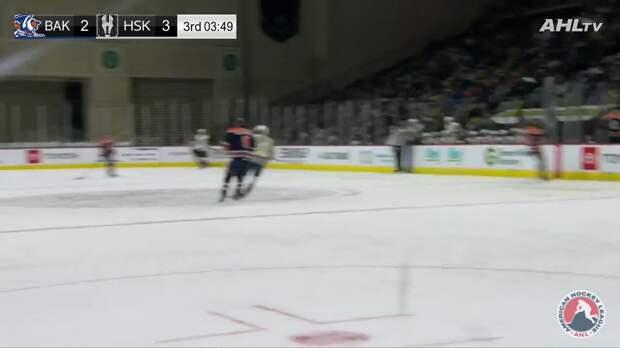 Игрок фарм-клуба «Вегаса» Лауэн 4 раза ударил клюшкой хоккеиста «Бейкерсфилда» Деарнэ