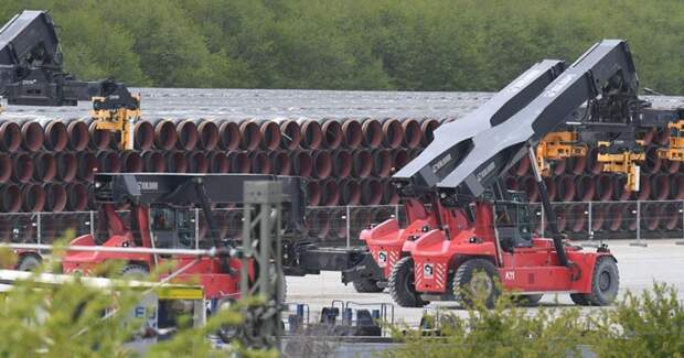 """В Германии сообщили об угрозах США из-за """"Северного потока - 2"""""""