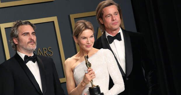Зеллвегер, Питт, Ривз с мамой: гости и триумфаторы «Оскара 2020»