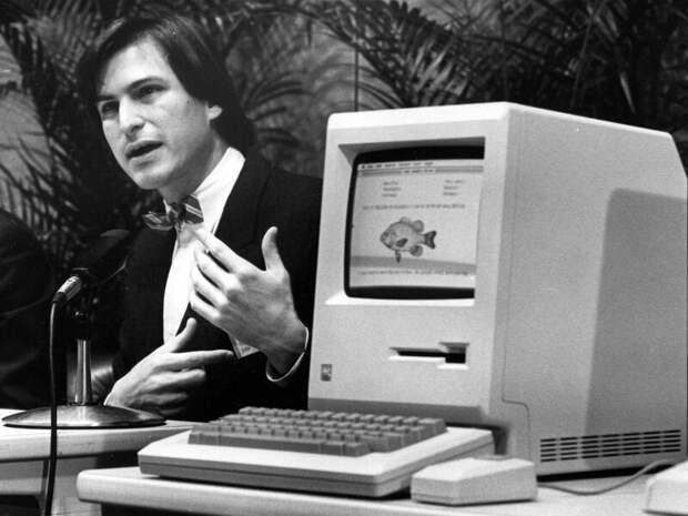 Macintosh - это любимый сорт яблок Стива Джобса, продаваемого в США