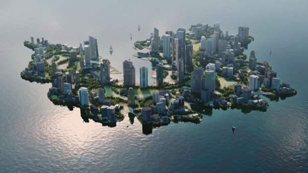 """Деловой """"квартал на воде"""" может появиться у башни """"Газпрома"""""""
