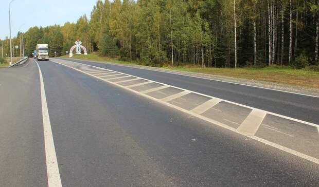 Число погибших на М-7 «Волга» в Удмуртии снизилось на 18%