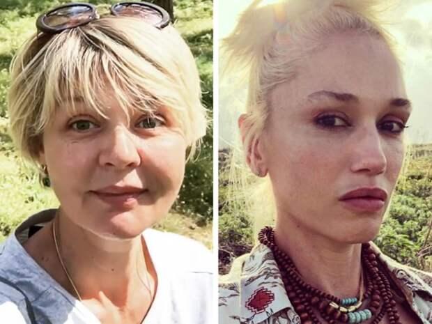 Знаменитости: Юлия Меньшова и Гвен Стефани