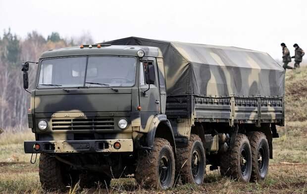 КамАЗ-6350 — полноприводный грузовик из семейства «Мустангов»