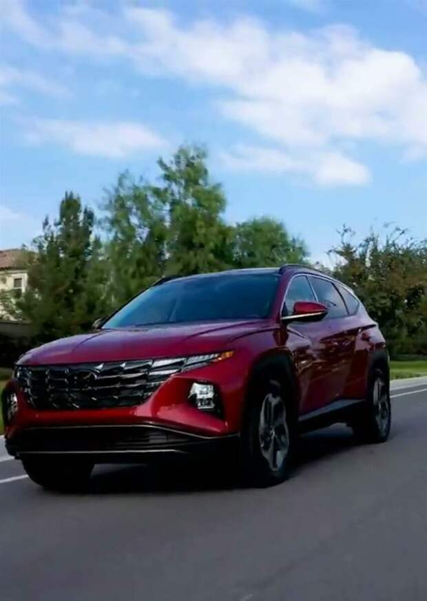 Hyundai представила совершенно новый Tucson 2022 года