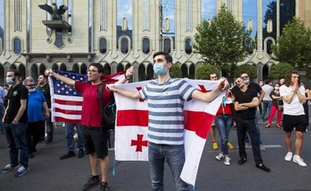 США ставят Грузию на колени перед ЛГБТ-сообществом