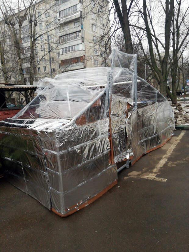 Нет денег, но есть смекалка! | Фото: fishki.net.