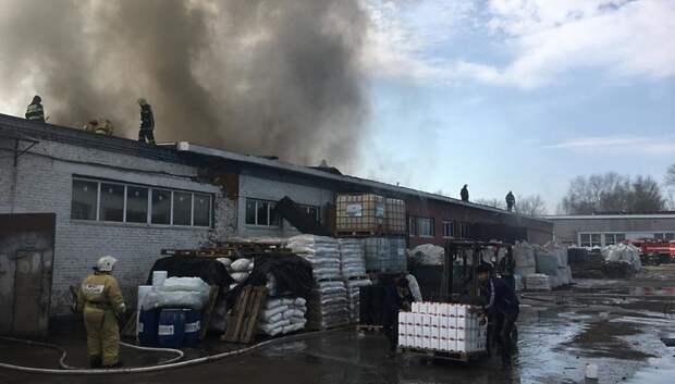 Пожару на складе подсолнечного масла в Подольске присвоили повышенный ранг