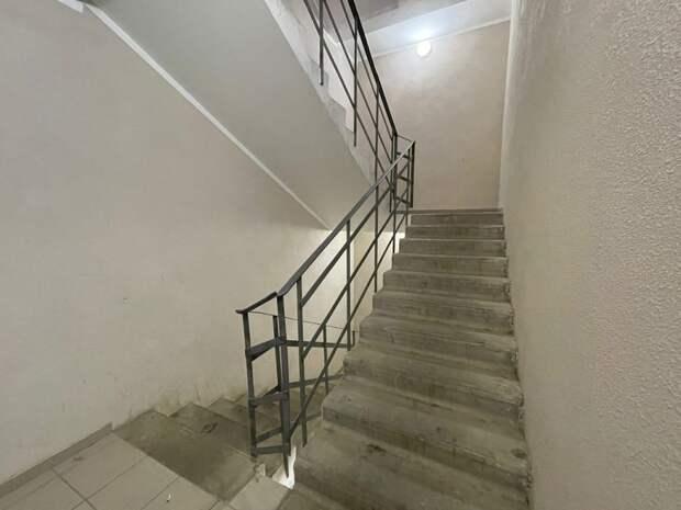 В доме на 4-ой улице Марьиной Рощи починили освещение