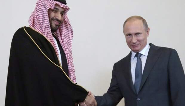 Putin Saud prinz