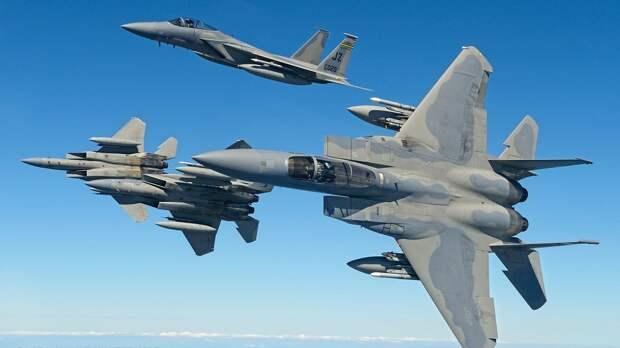 Повысить мощь ВВС Украины: Ленд-лиз ста американских истребителей и самолётов-заправщиков?