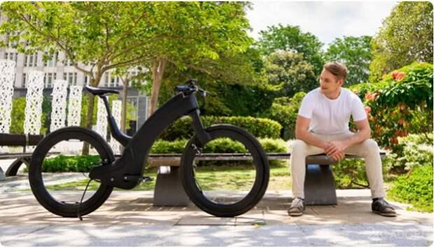 Электрический велосипед с колесами без спиц Beno Reevo собрал на Indiegogo 700 тыс долларов