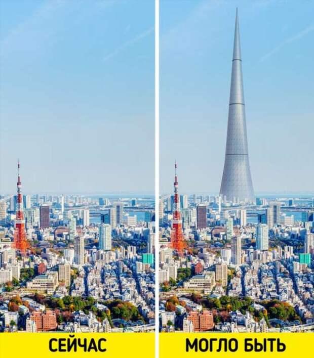 9 нереализованных проектов, которые должны были изменить облик больших городов до неузнаваемости