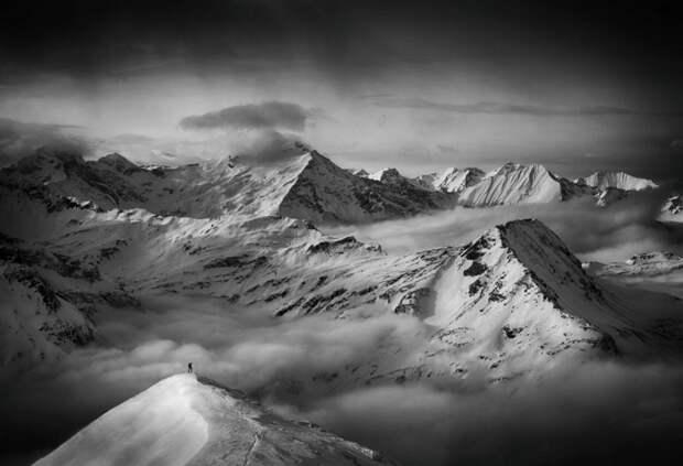 Минималистичные снежные пейзажи Петера Свободы