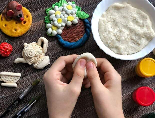 4 рецепта соленого теста и мастер-класс по лепке барашка