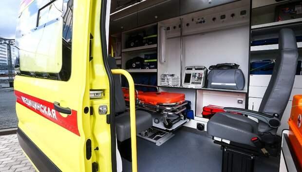 Подстанция скорой помощи Подольска получила две новые машины