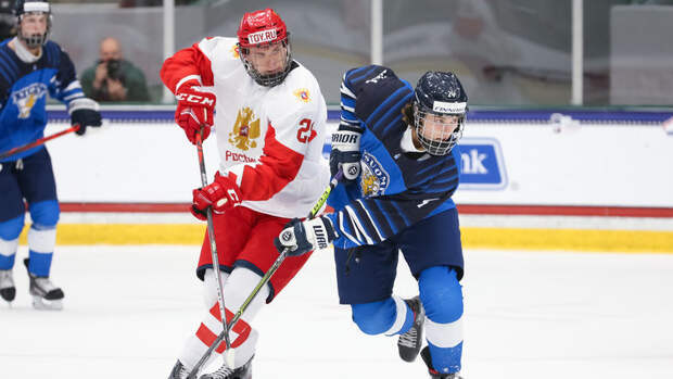 Юниорский ЧМ-2021, 1/2 финала: результаты матчей, Финляндия— Россия