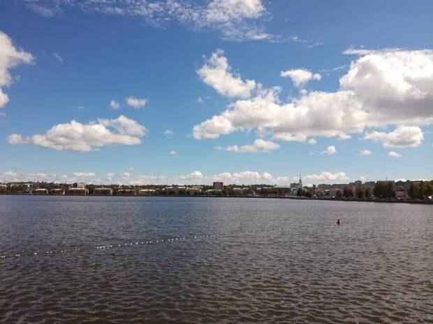 Экологическое состояние воткинского пруда остается стабильным