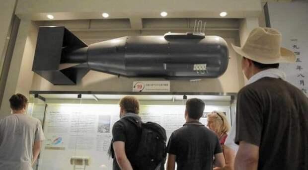 У японцев могла быть собственная бомба.