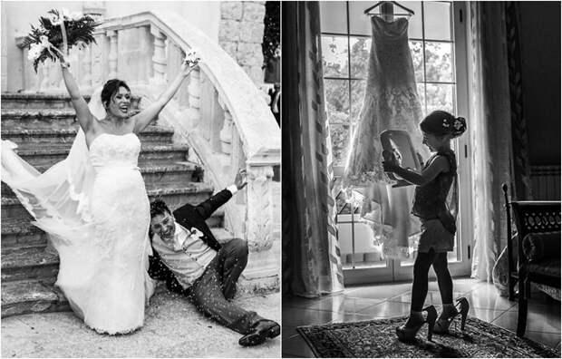 Забавные и трогательные моменты со свадебных церемоний.