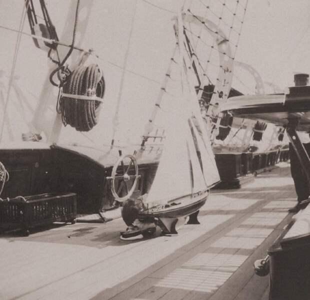Роскошная яхта последнего российского императора