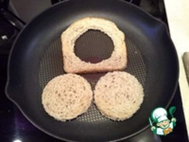 Яйцо в тосте ингредиенты